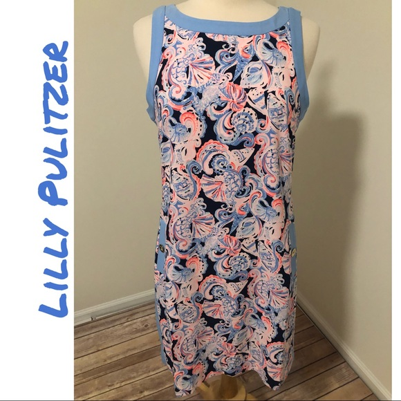 NWT Lilly Pulitzer Angie Stretch Shift